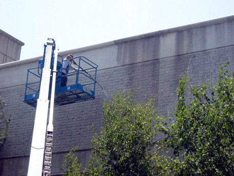 exterier building washing Brockton